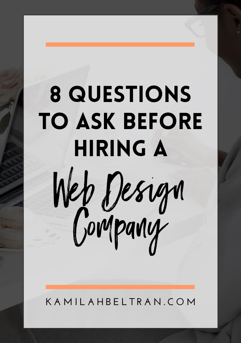 8 questions to ask before hiring a web design company for Hire someone to decorate my house
